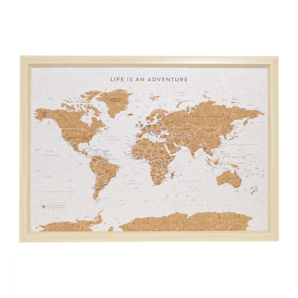 WORLD TRAVEL MAP - SMALL