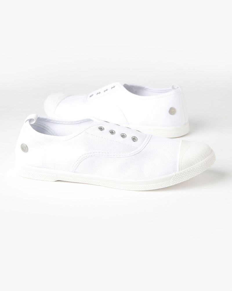 EURO CANVAS PLIMSOLE WHITE