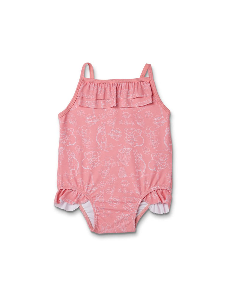 PEARL FRILL BATHER