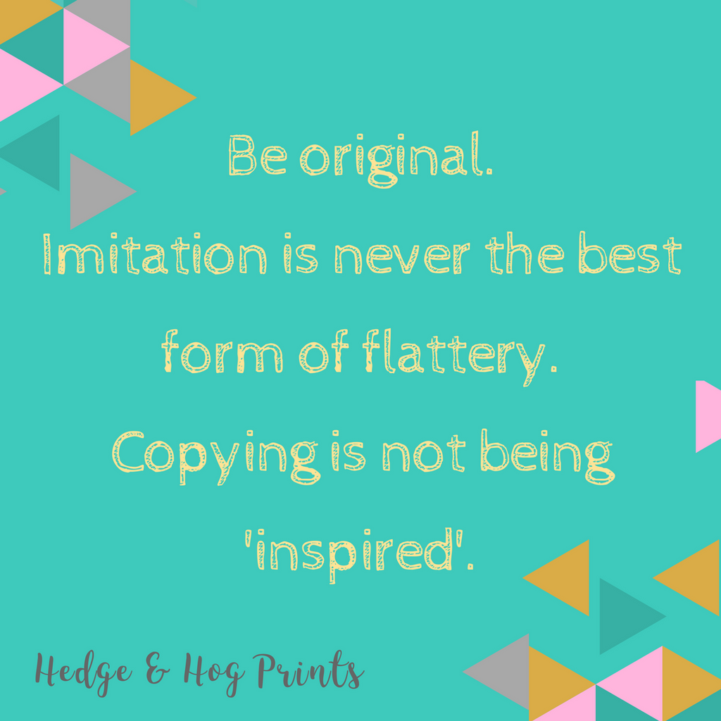 Why imitation is not a form of flattery?