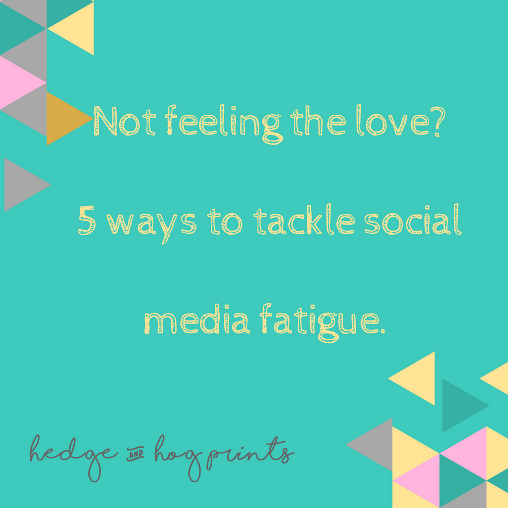 Losing your business mojo? 5 ways to tackle social media fatigue