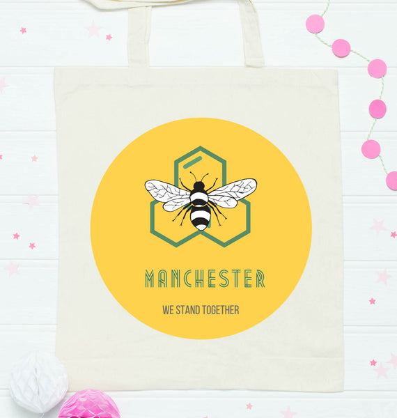 Support Manchester MEN Red Cross Charity Tote bag