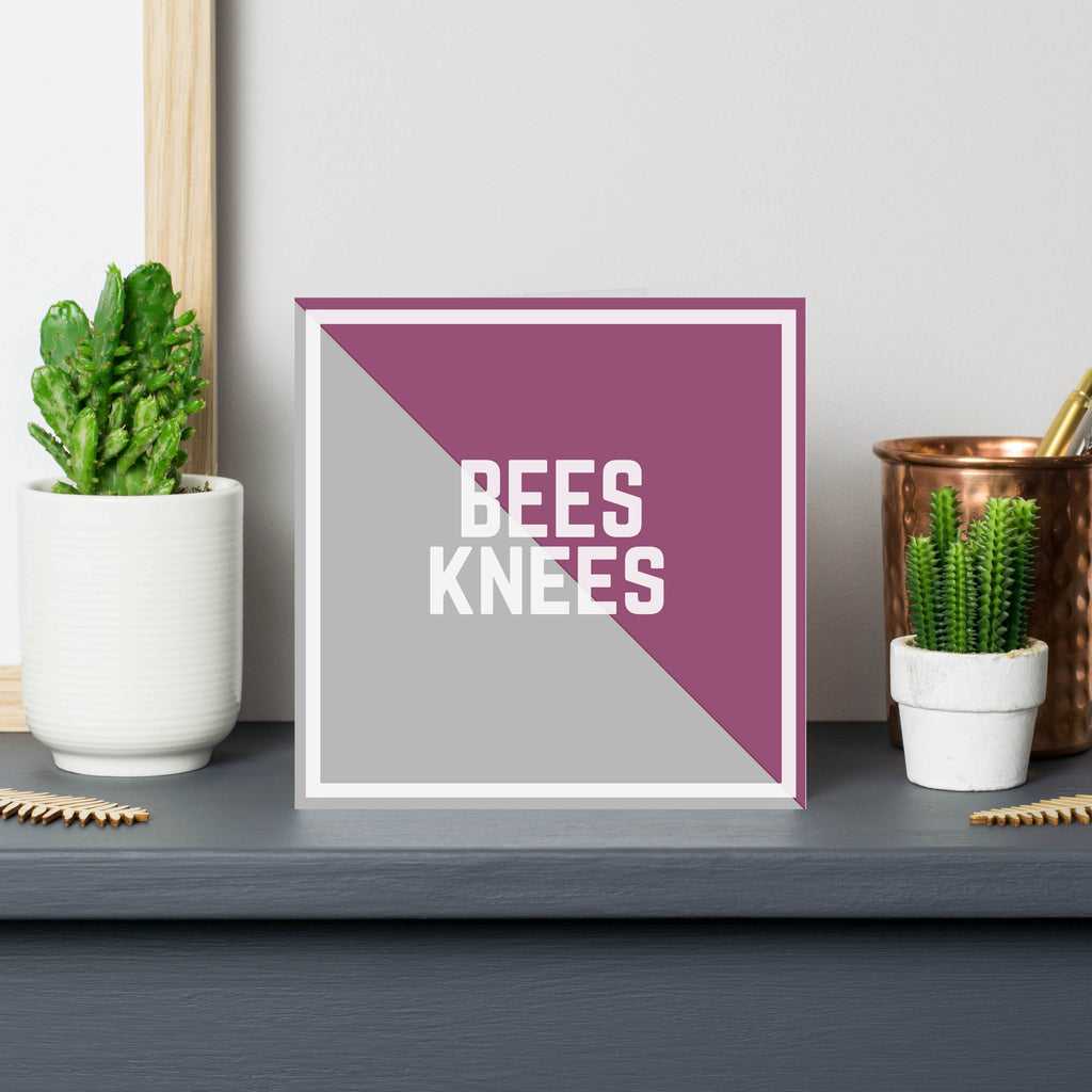 bees knees - british slang - northern