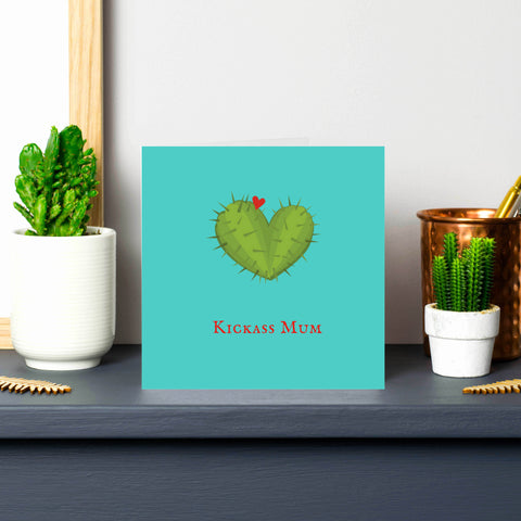 'Kickass Mum' Card