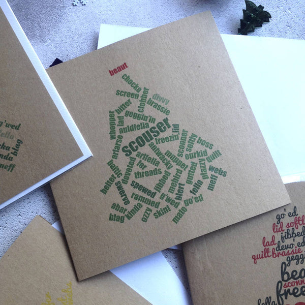 Liverpool Christmas Cards Pack Of Four