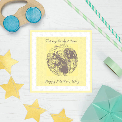 Mother's Day Spring Floral Card