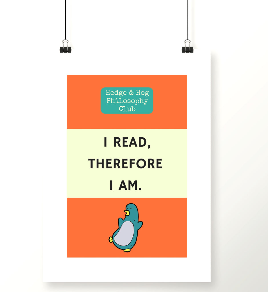 Readers Books Art ScreenPrint