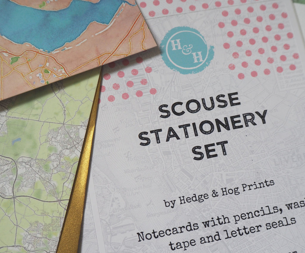 Scouse and Proud™ Stationery Set