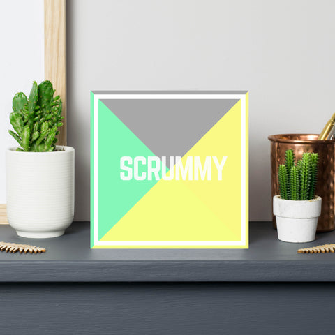 'Scrummy' Birthday Anniversary Card