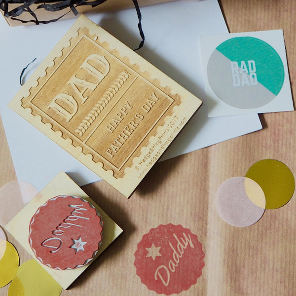 'Make your own Father's Day gifts' Block Printing Kit