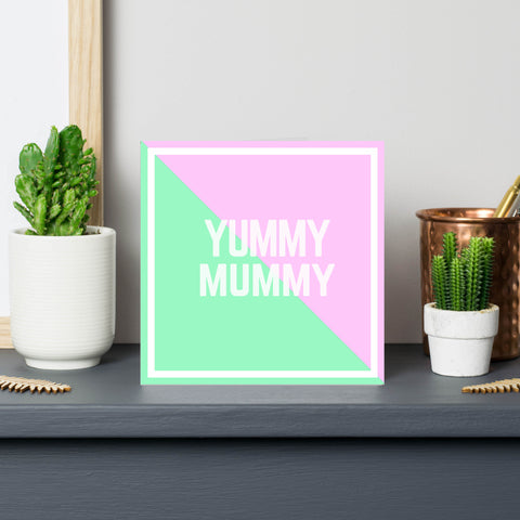 'Yummy Mummy' Card