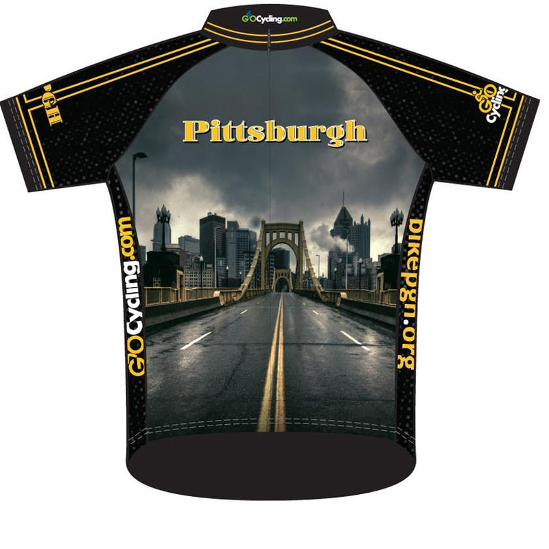 Pittsburgh Cycling Jersey: Stormy