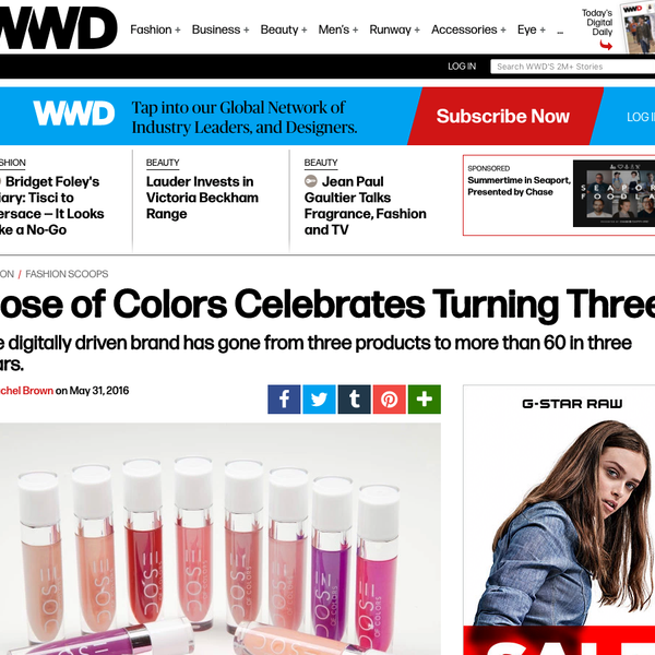 WWD - Dose of Colors Celebrates Turning Three