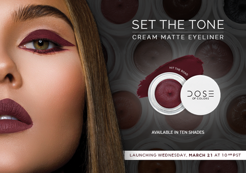 SET THE TONE CREAM MATTE EYELINER