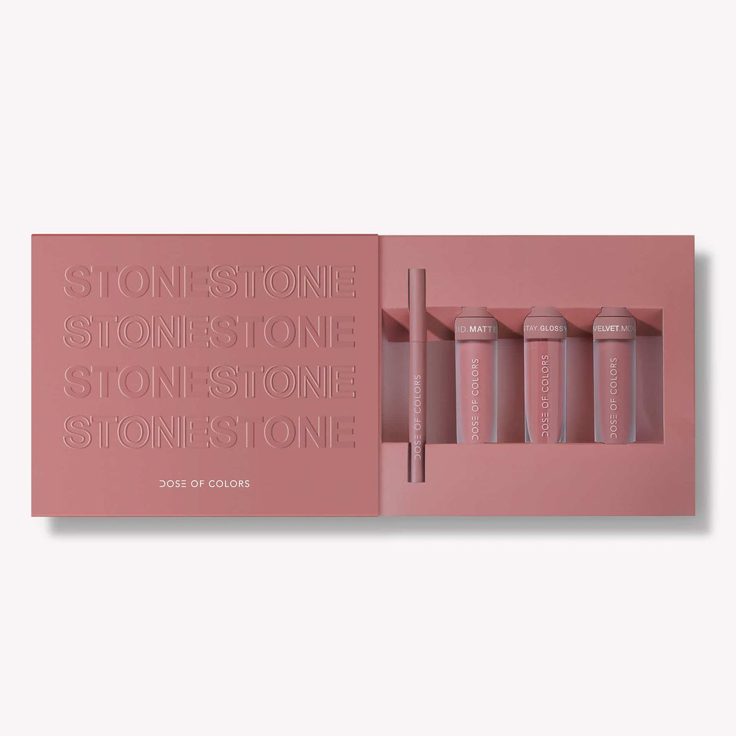 LIMITED EDITION STONE SET