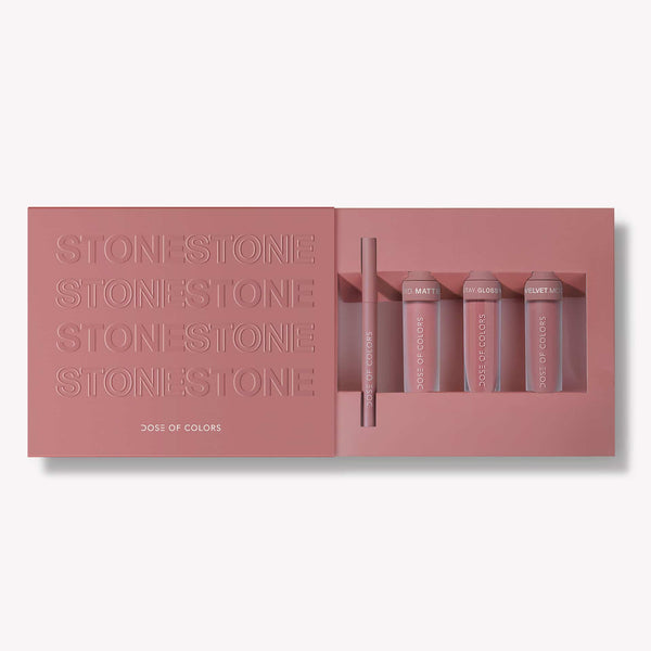 LIMITED EDITION STONE LIP SET