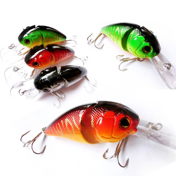 Treble Hook bait wobblers Fishing Lures