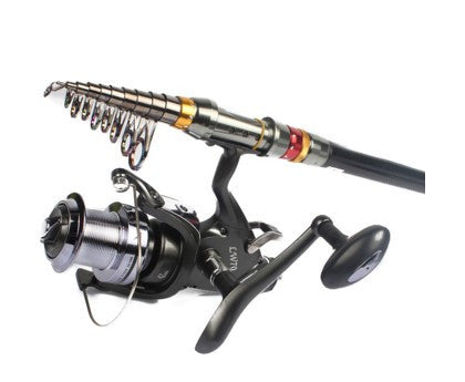Spinning Fishing Reel Double Twin Drag