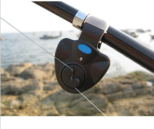 Fish Bite Sound Clip On Fishing Rod