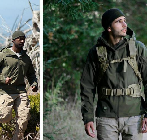 Waterproof Hunting Clothes Military Tactical Jacket
