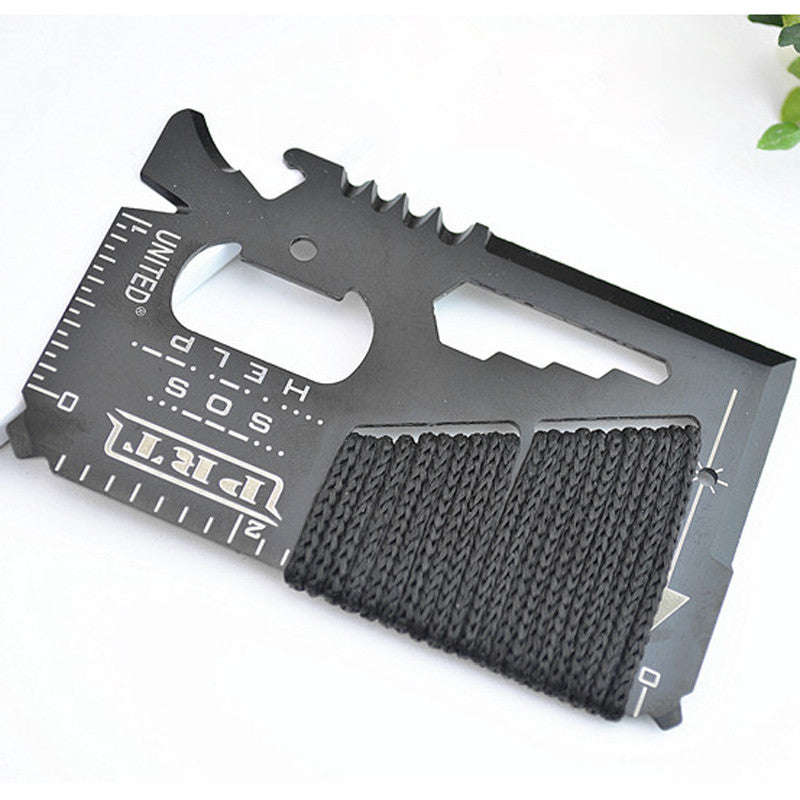 16 In 1 EDC Outdoor Camping Credit Card Knife