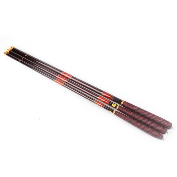 Fishing Rod Carbon Fiber Telescopic Fishing Pole