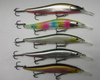 Fishing Floating Minnow Jerk bait Treble Hook Pike
