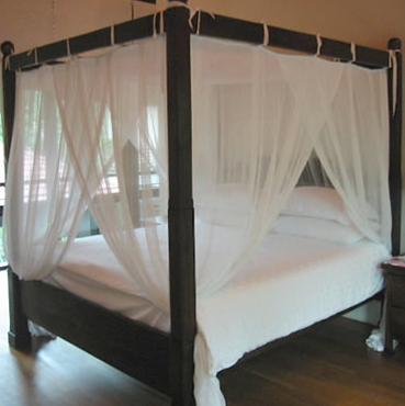 Four Poster Mosquito Net - Tie Under
