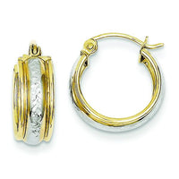 10K Yellow Gold Small Hoop Earrings Earrings from [shop name]
