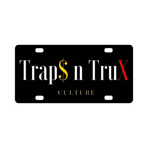 Trap$ n TruX Culture™ no.1 License Plate Classic License Plate