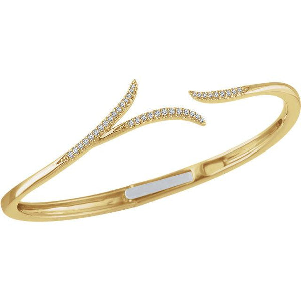 14K Yellow Gold Diamond Bracelet Bracelet from [shop name]