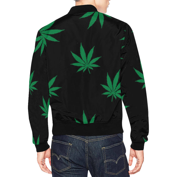 Mens 420 Bomber Jacket for Men/Large Size