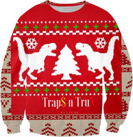Ugly T-Rex Xmas Sweater