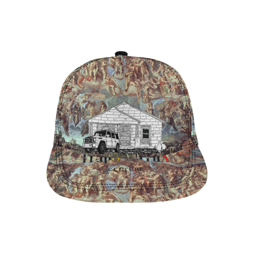My Bando Blessed All Over Print Snapback Hat D