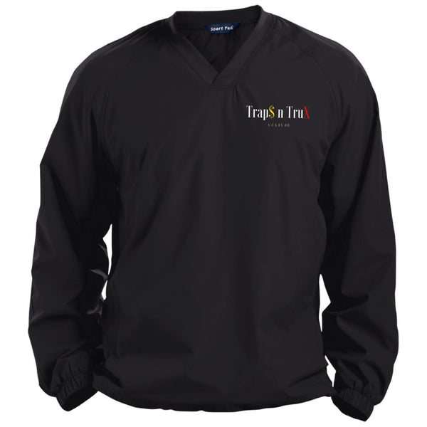 Trap$ n TruX Culture™ no1 - Sport-Tek Pullover V-Neck Windshirt