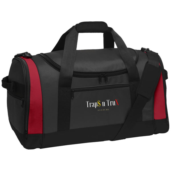Trap$n Trux Culture™ - BG800 Port Authority Travel Sports Duffel