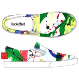 Primary Splash Bucketfeet Shoes by Threadless