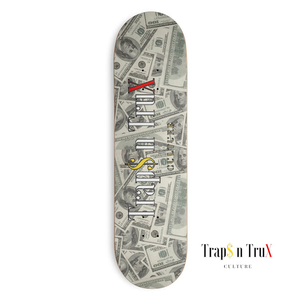 Money Board Skateboard Deck