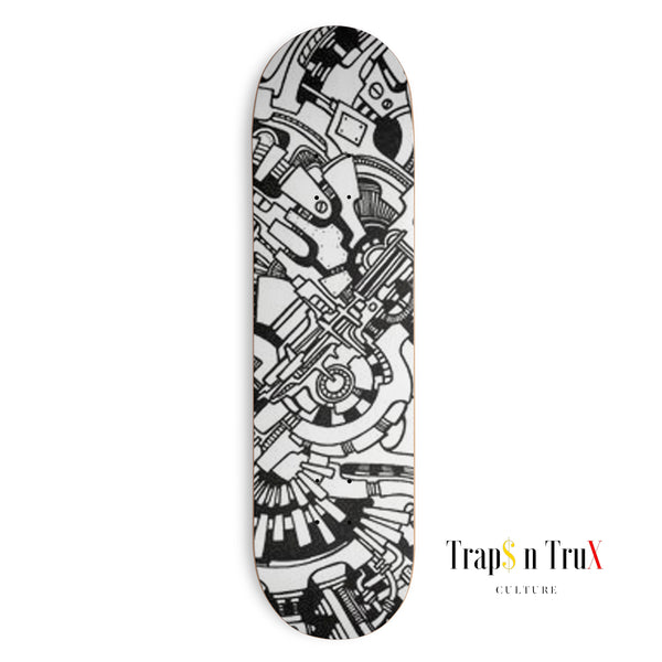 The Machine Skateboard Deck