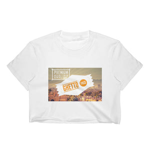 AZ Ghetto Pass Women's Crop Top