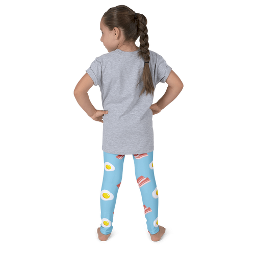 Kid's Bacon and Eggs leggings