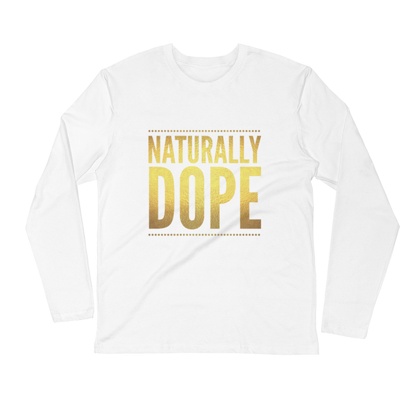 """Naturally Dope"" Fitted T-Shirt T-Shirt from [shop name]"