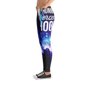 100pH Logo Galaxy Print Leggings
