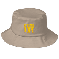 Naturally Dope Old School Bucket Hat