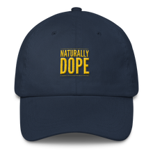 """Naturally Dope"" Classic Dad Cap"