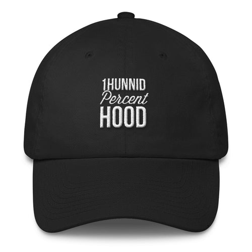 1Hunnid Percent Hood Cotton Cap