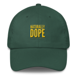"""Naturally Dope"" Classic Dad Cap Dad Cap from [shop name]"