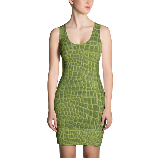 Gator Life Fitted Dress