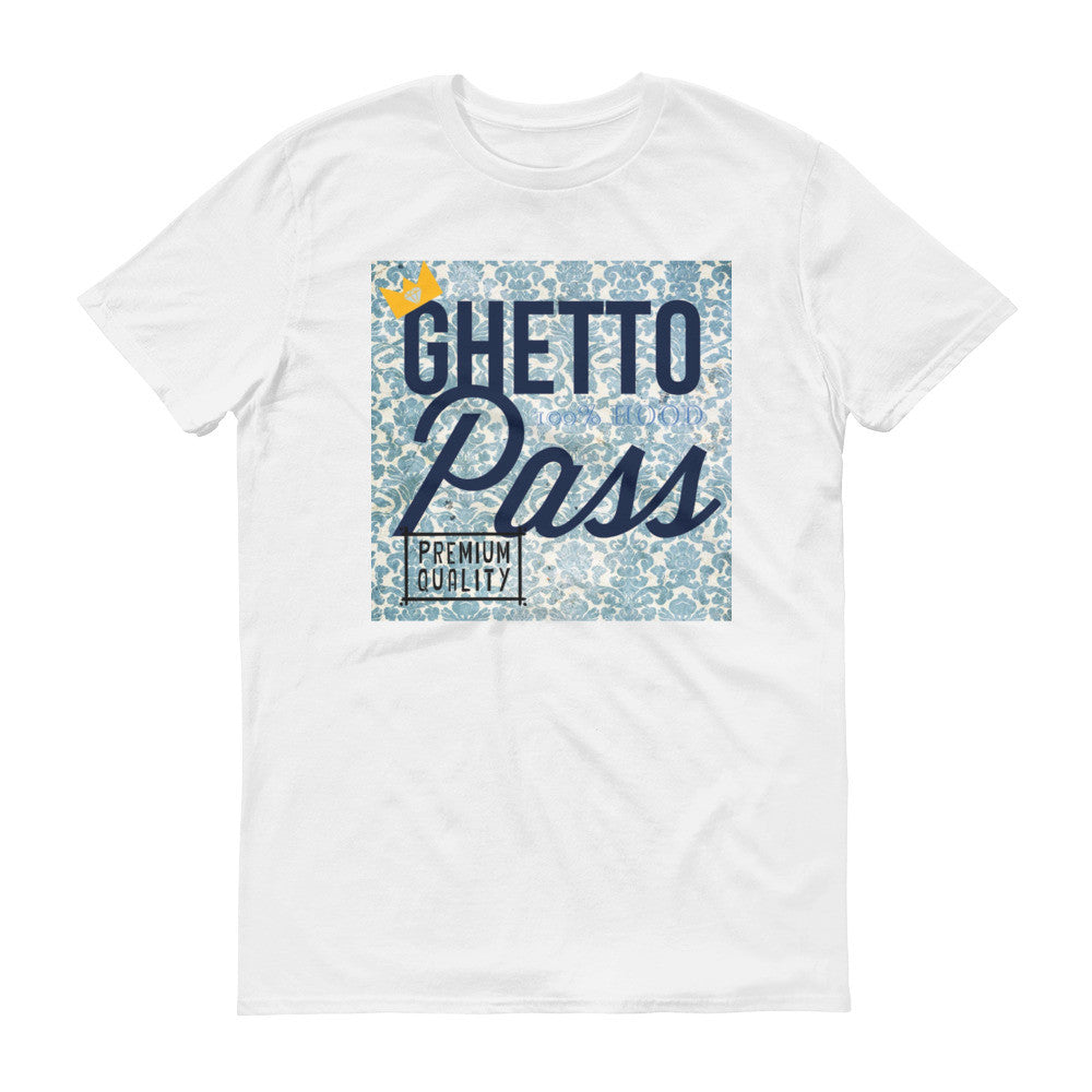 Blue Crown Ghetto Pass T-Shirt