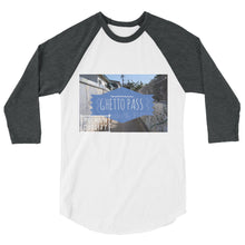 LA Ghetto Pass 3/4 sleeve Baseball Tee